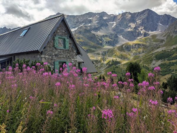 Ecrins national park alps
