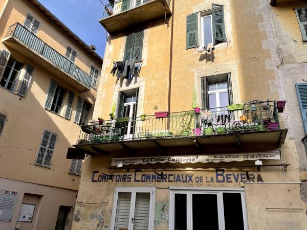 Sospel balcony