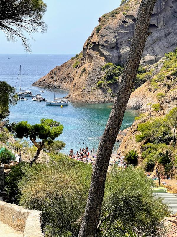 Figuerolles calanque sea inlet La Ciotat France