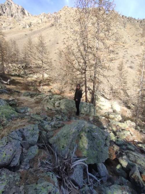 Kristi at Ecrins national park