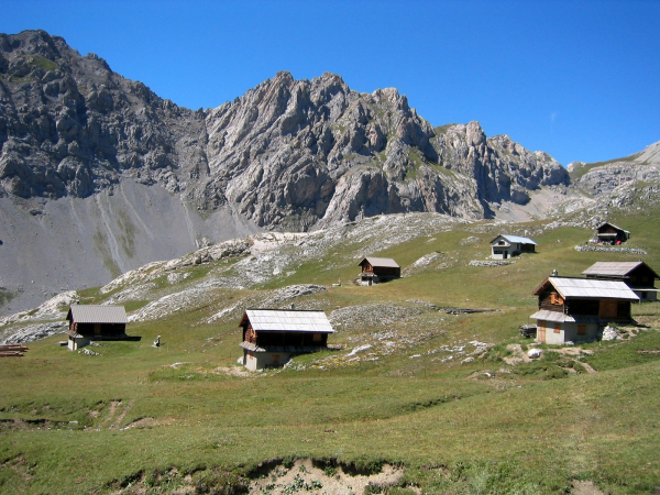 Queyras French Alps chalets refuge