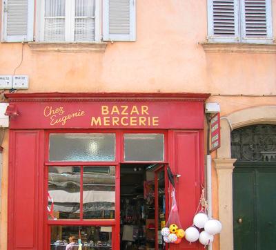 Bazar Mercerie = Haberdasher's/Notions store (c) Kristin Espinasse
