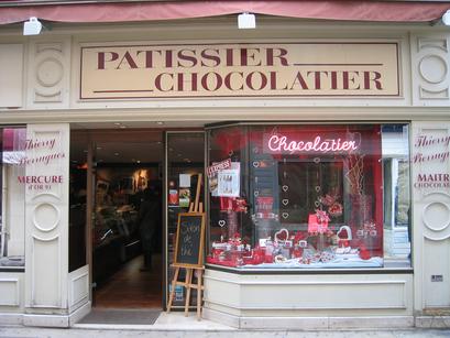 Patissier Chocolatier = Pastry Chocolate shop (c) Kristin Espinasse