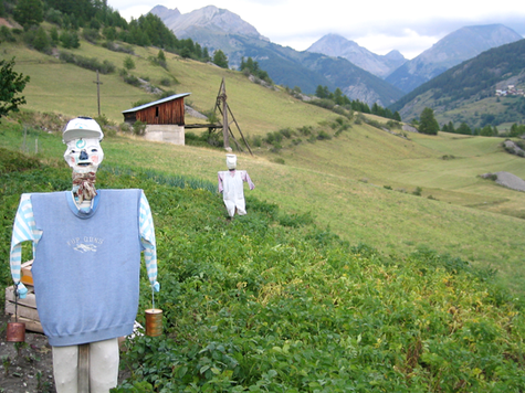 French scarecrow - epouvantail
