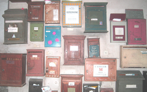 French Mailboxes (c) Kristin Espinasse