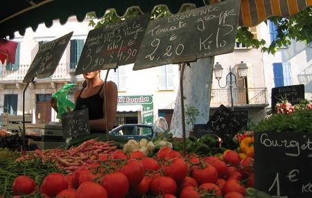 Market = Marché in Lorgues (c) Kristin Espinasse