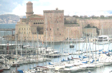 Le Vieux Port de Marseille - The Old Port in Marseilles (c) Kristin Espinasse