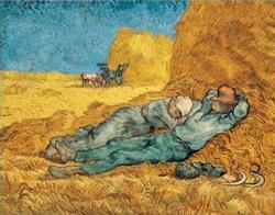 La Meridienne by Van Gogh
