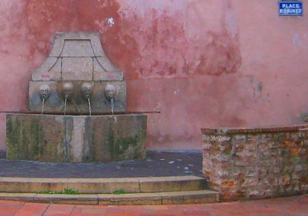 Place Robinet = 'Faucet Place (c) Kristin Espinasse