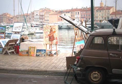 Canvasing St. Tropez