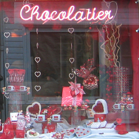 Chocolate shop in St. Tropez (c) Kristin Espinasse