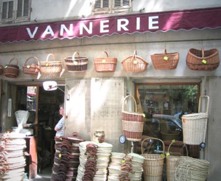 La Vannerie = Wickerwork (c) Kristin Espinasse